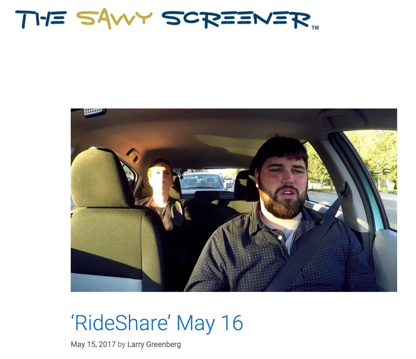 """RideShare"" May 16"