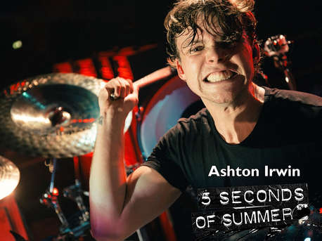 Ashton Irwin (5 SECONDS OF SUMMER)