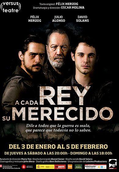 A CADA REY SU MERECIDO