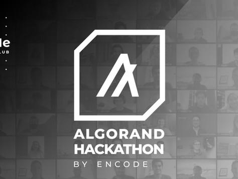 Encode ClubのAlgorand Hack Finale受賞者と概要