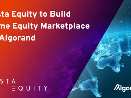 Vesta Equityとアルゴランド、ブロックチェーン・ベースのトークン化された住宅用ホーム・エクイティのグローバルなピア・ツー・ピア・マーケットプレイスで提携