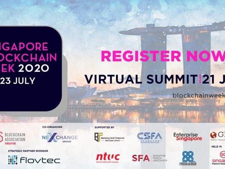 7月21日(火)12:30pm – 「デジタル資産取引:機関 vs DeFi」 シンガポール・ブロックチェーン・ウィーク2020