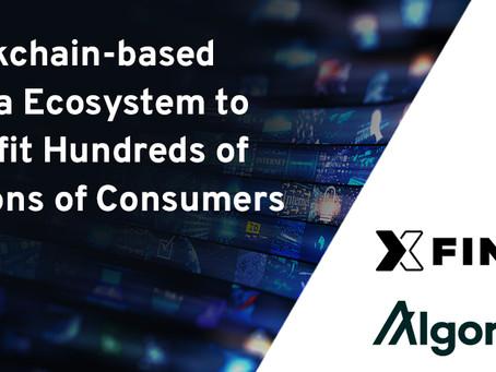 Xfiniteとアルゴランド、大規模な採用を視野に入れた戦略的パートナーシップを締結
