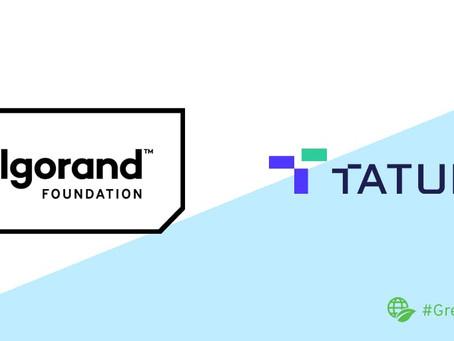 Tatum、アルゴランドと提携し、開発者にツールやインフラへのアクセスを提供