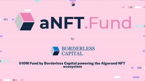 Borderless Capitalが1,000万ドル規模のaNFT.Fundを設立