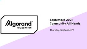 ウェビナー「コミュニティ・ガバナンスがやって来る」 - 2021年9月9日(木)14:00 - 15:00 GMT (日本時間22:00 - 23:00)