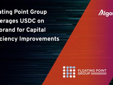 クリプト・ブローカーのフローティング・ポイント・グループ(Floating Point Group)、アルゴランド上のサークルのUSDCサポートを発表