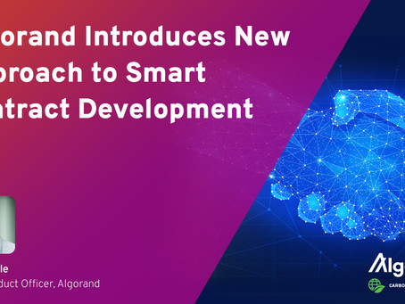 アルゴランド、スマートコントラクト開発に新たなアプローチを導入