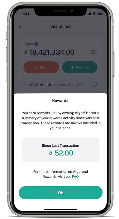 Algorand Wallet Feature3