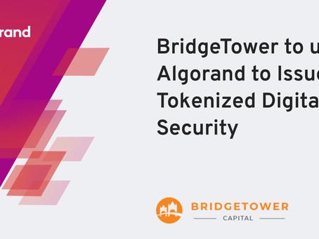 アルゴランドとブリッジタワー・キャピタル(BridgeTower Capital)が戦略的パートナーシップを発表