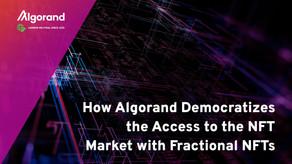分割NFTでアルゴランドがNFT市場へのアクセスを民主化する方法