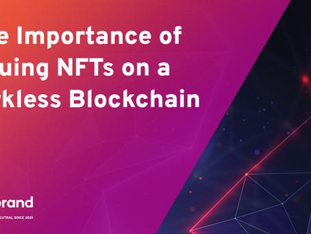 フォークレス(フォークのない)ブロックチェーンでNFTを発行することの重要性
