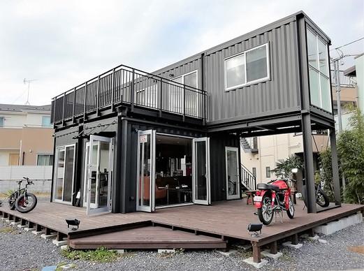ワンランク上のコンテナハウス Iron House Tetsuya 八王子展示場