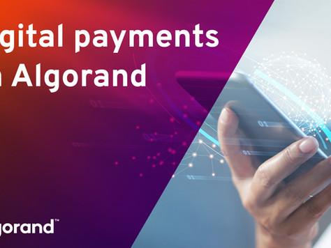 デジタル決済:アルゴランドが実現する瞬時かつ低コストな価値の伝達方法