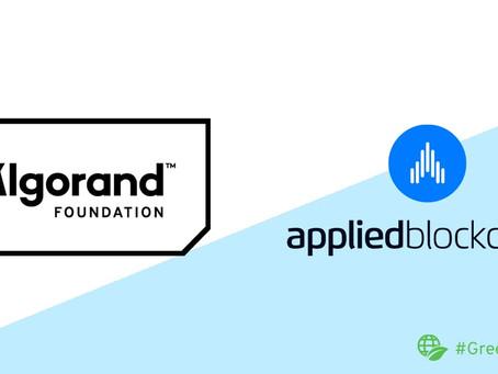 Applied Blockchain(アプライド・ブロックチェーン)、アルゴランド財団からSILENTDATA統合のための助成金を獲得