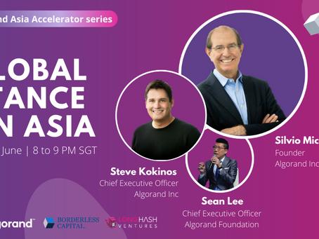 6月24日(水)21:00(日本時間)、Algorand: A global stance on Asia by LongHash Ventures