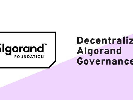 4月21日23:00〜(日本時間)、アルゴランド財団 コミュニティ全員集合!セッション「アルゴランドのガバナンス分散化」