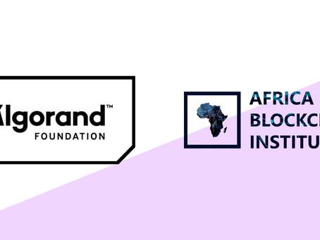 アフリカ・ブロックチェーン研究所(Africa Blockchain Institute)がアルゴランド財団の助成金を確保