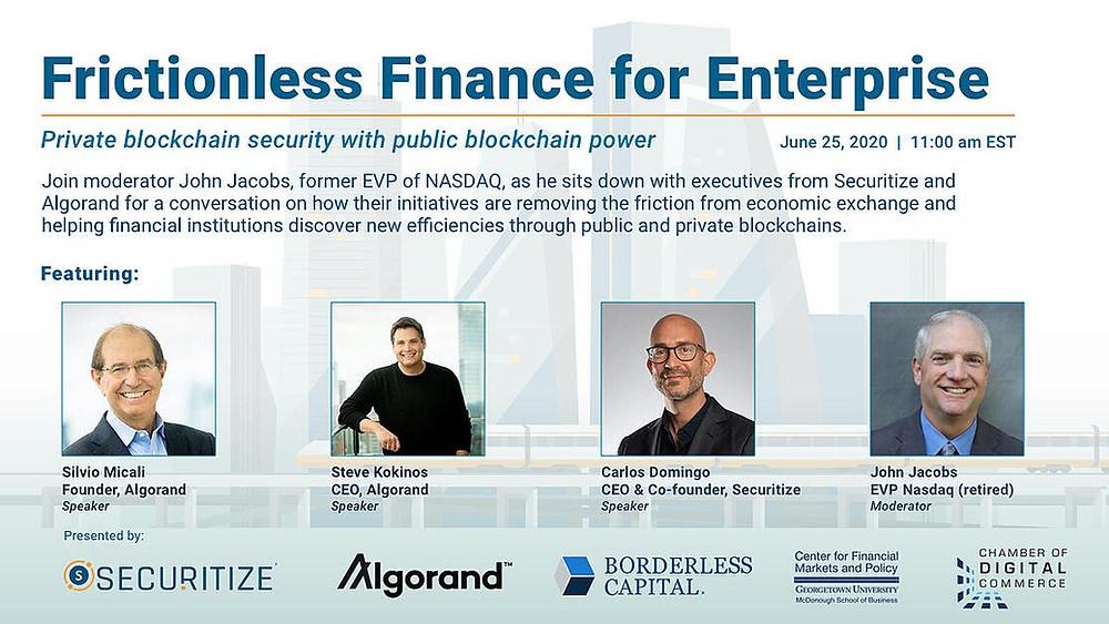 Frictionless Finance for Enterprise