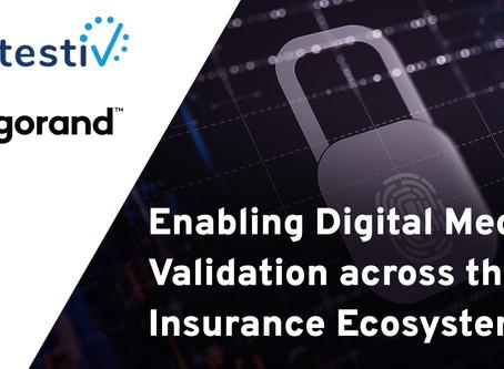 アルゴランドが最初のインシュアテック(保険テック)ユースケースを発表:不正防止のためのAttestivデジタルメディア検証