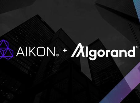 財団助成金を受けたAIKONがORE IDとChainJSのアルゴランド統合を開始