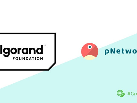 pNetworkとアルゴランドが正式に提携し、新たなクロスチェーンの接続を構築