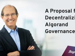 アルゴランド・ガバナンスの分散化への提案 by シルヴィオ・ミカリ