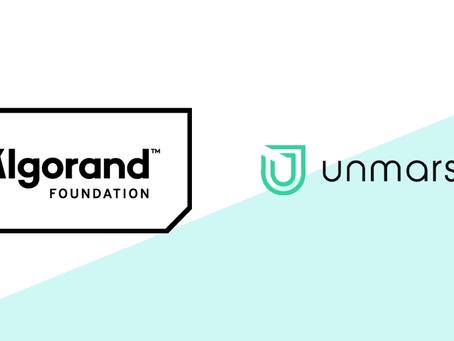 Unmarshal(アンマーシャル)、アルゴランドから助成金を受け、アルゴランド・プロトコル上のアプリケーションのための先進的なデータ・インフラ・レイヤーを構築