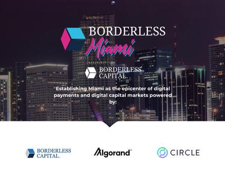 Borderless Capital、マイアミでブロックチェーン投資を加速させる2,500万ドルのファンドを設立