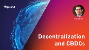 分散化とCBDC