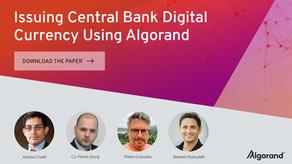 レポート:アルゴランドを活用した中央銀行デジタル通貨(CBDC)の発行