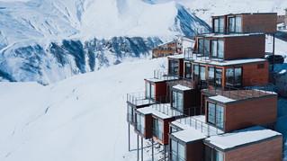 標高2,200mの地点に経つブティックホテル「Quadrum」
