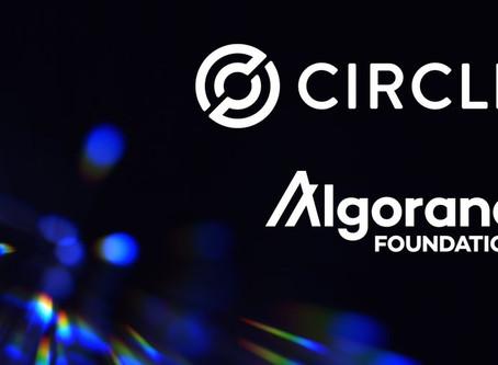 アルゴランド財団とCircle、USDCを利用したデジタルドルをアルゴランド・ブロックチェーンに導入