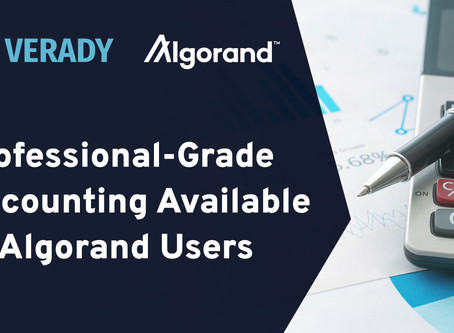 Veradyは、Blockchain.comとアルゴランドとの会計会計パートナーシップを発表しました