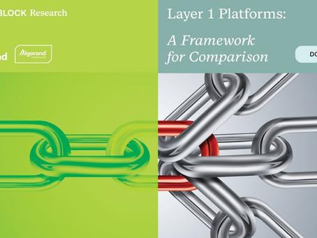 レイヤー1プラットフォーム:比較のためのフレームワーク