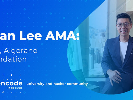 ショーン・リー(Sean Lee) - アルゴランド財団CEO  AMA at En[code] Club