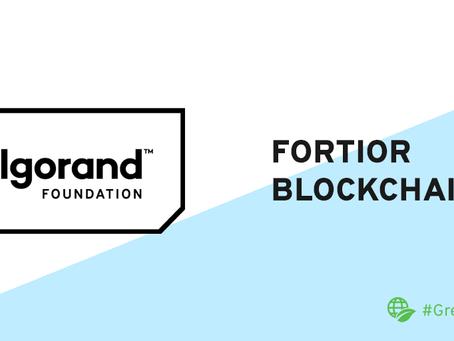 Fortiorがアルゴランドと提携し、アルゴランド・ブロックチェーン上にAIを活用したガバナンス機構と金融資産を構築
