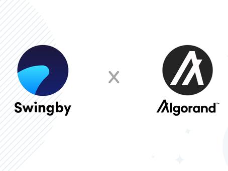 Swingby、アルゴランドのエコシステムに「スカイブリッジ(Skybridge)」を導入するための助成金を獲得