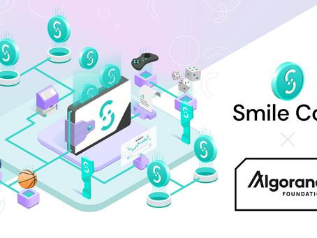 Smile Coin、アルゴランドでゲームの未来を後押しする一連のDeFi製品とツールを提供