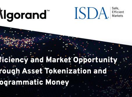 アルゴランドとISDA:資産のトークン化とプログラマティック・マネーによる効率と市場機会