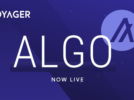 ボイジャー・デジタル(Voyager Digital)、アルゴランドでのデジタル・アセット投資ソリューションを発表