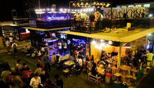 カンボジアで人気のコンテナ市場『Jet's Container Night Market』。