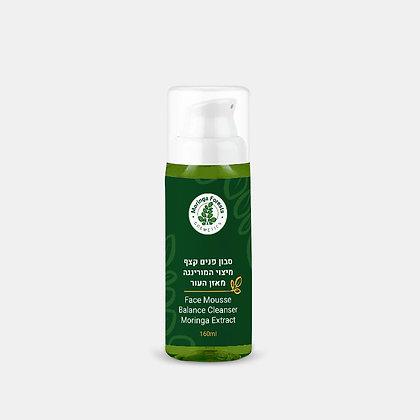 סבון פנים קצף מיצוי המורינגה מאזן העור