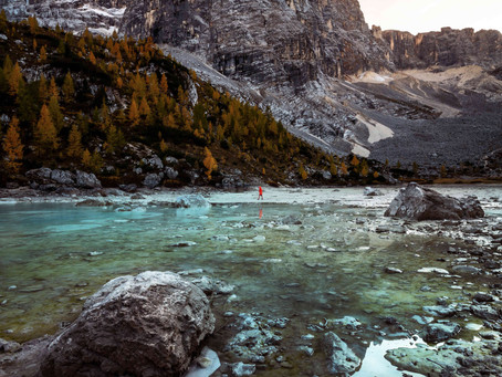 Hiking to Lago di Sorapis