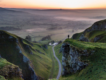 Photographing Winnats Pass