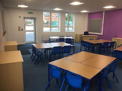 School refurbishment - Loose furniture