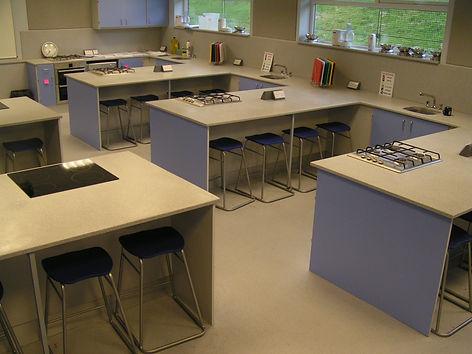 West high school food technology school refurbishments