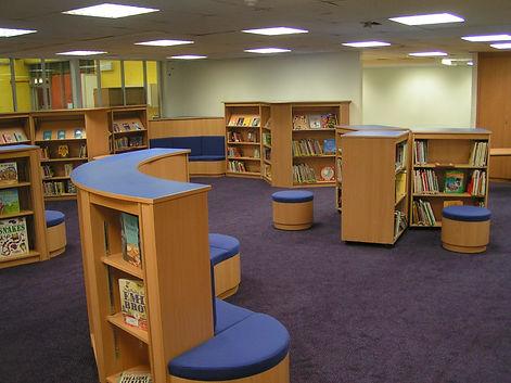 St Mary's Library school refurbishments