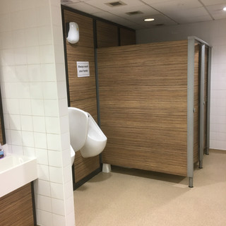 Toilets, bathrooms, washrooms & cubicles