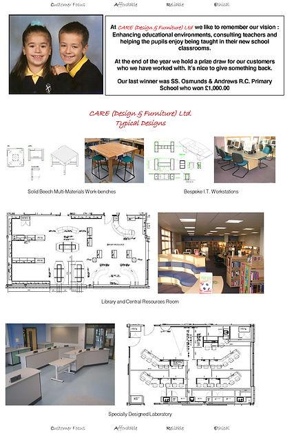 School Designs & Prize Draw